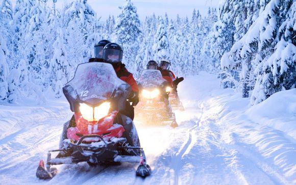 Dettagli escursione in motoslitta