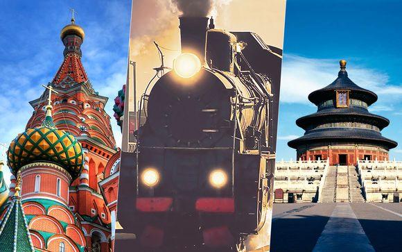 Transiberiana da Mosca a Pechino in 15 giorni