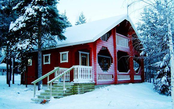 Rovaniemi safari e cottage da fiaba voyage priv fino a for Planimetrie di piccoli cottage