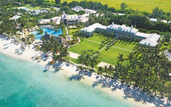 Confortevole Resort 5* sulla spiaggia di Flic en Flac