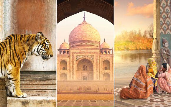 Triangolo d'Oro + Khajuraho + Varanasi