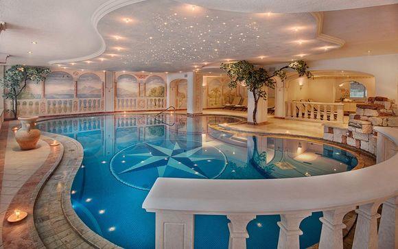 Elegante Junior Suite in Alpine Spa Resort 4*S