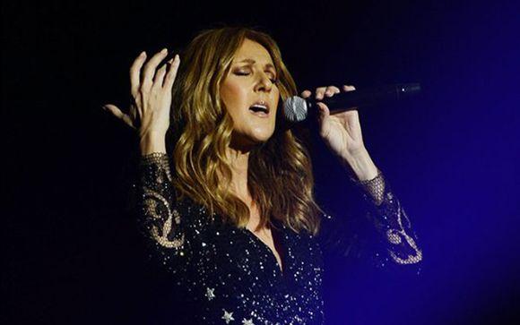 L'indimenticabile show di Céline Dion