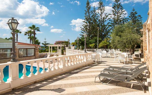 Elegante resort 4* sul mare con piscina e spa