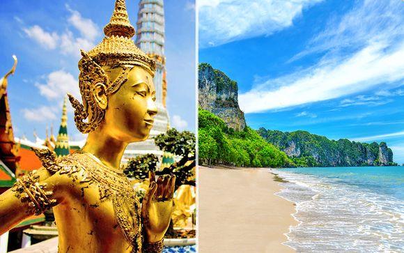 Vince Hotel Pratunam Bangkok 4* & Aonang Fiore Resort Krabi 4*