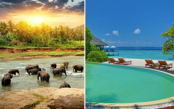 Tour privato dello Sri Lanka e soggiorno alle Maldive Adaaran Select ...
