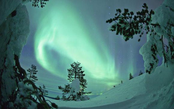 Alla ricerca dell'aurora boreale, con una notte in igloo