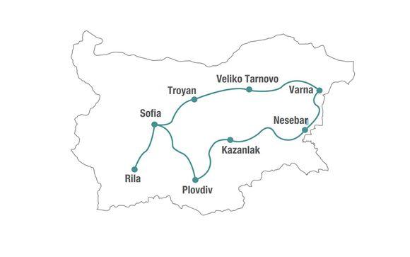 Alla scoperta della Bulgaria