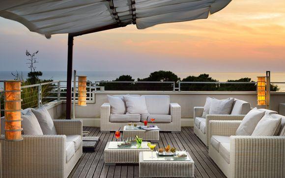 Prestigioso hotel di lusso sul lungomare della Versilia