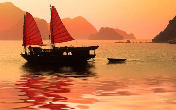 Tour del Vietnam della Cambogia e del Laos con partenza il 23/12 da Roma (12 notti)