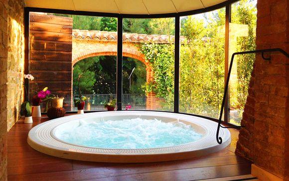Esclusivo resort 5* di charme con spa tra le colline