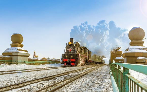 Transiberiana da San Pietroburgo e Mosca a Pechino
