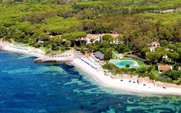 Location esclusiva in relais 4* con spiaggia privata