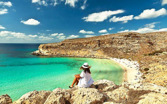 Lampedusa e le sue spiagge, soggiorno in appartamento