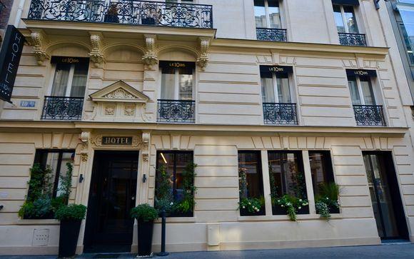 L'Hotel Le 10 BIS 4*