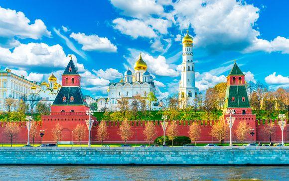 San Pietroburgo/ Mosca: 10 notti a bordo della MS Chernishevsky 4 * o MS Mustai Karim 5 *