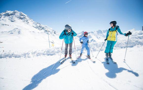 Il comprensorio sciistico di Les Deux Alpes