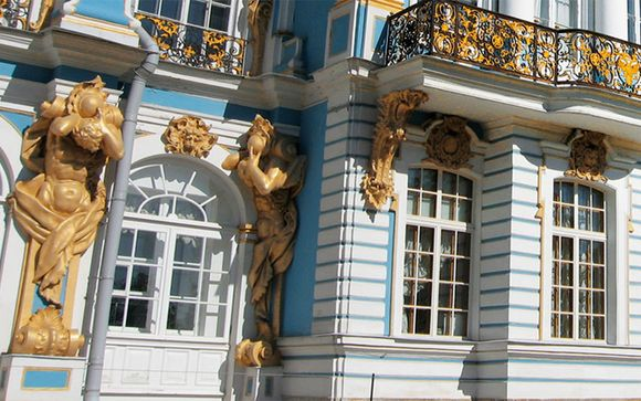 Itinerario da Mosca a San Pietroburgo - partenze 23/05, 12/06, 02/07, 22/07, 11/08, 31/08