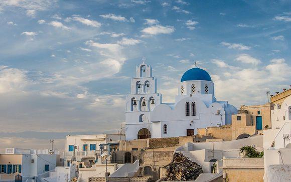 Alla scoperta di Atene e Santorini