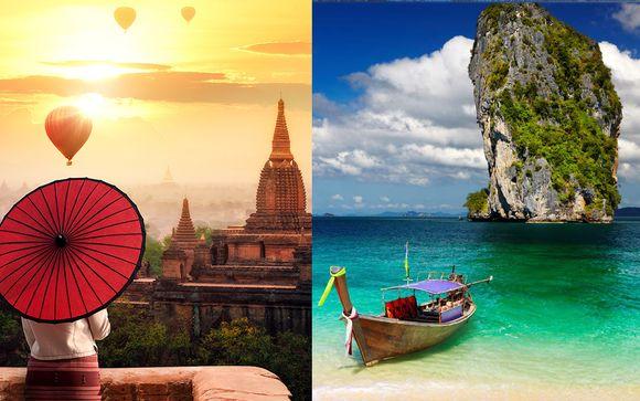 Tour Privato della Birmania + estensione mare a Phuket
