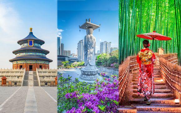 Tour tra le principali città di Cina, Corea e Giappone