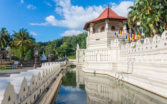 Itinerario del tour tra i templi dello Sri Lanka