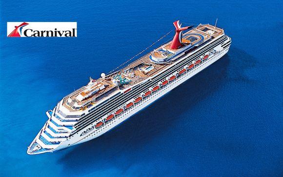 Crociera Carnival Glory ai Caraibi