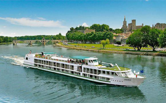 La nave - Motonave Van Gogh II 5* (partenze del 10 e del 16 agosto)