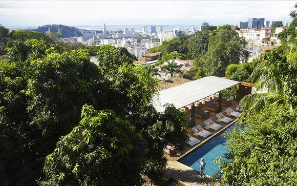 Esclusivo boutique hotel nel centro di Rio con piscina