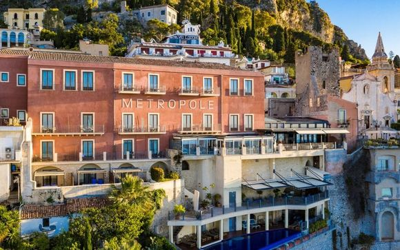 Hotel Metropole Taormina 5* - Adults Only