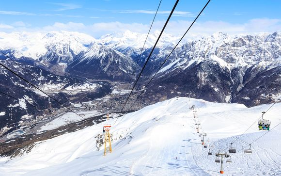 Il comprensorio sciistico Bormio Ski