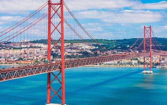 Fuga verso la capitale portoghese in moderno 4*