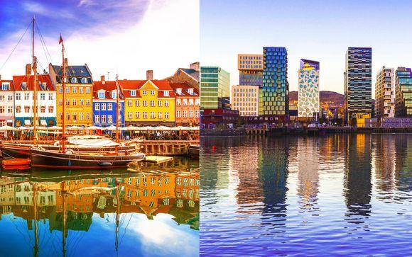 Viaggio tra Copenhagen e Oslo in traghetto