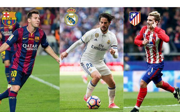FC Barcelona, Real Madrid e Atletico Madrid