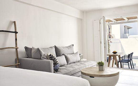 Privacy e relax in raffinate Suite con jacuzzi