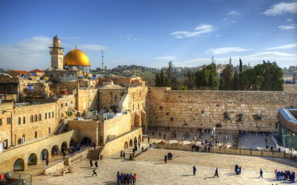 Mar Morto e Gerusalemme Express