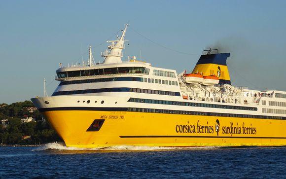 Traghetto Corsica-Sardinia Ferries
