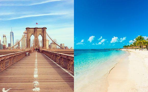 Holiday Inn New York Times Square + Barcelo Maya Beach 5*