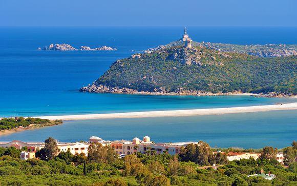 Raffinato 5* in area marina protetta a sud della Sardegna