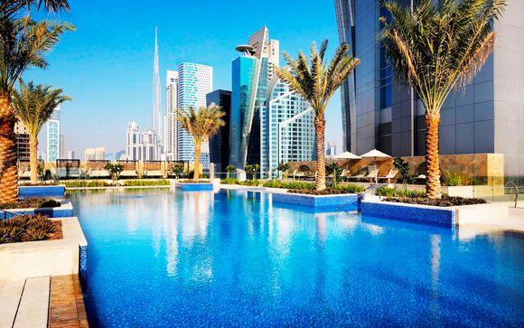 Lusso a 5* in Corner Suite nell'hotel più alto al mondo