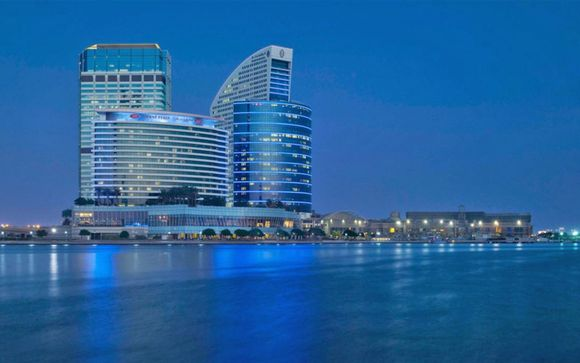 Dubai - Crowne Plaza Festival City 5*