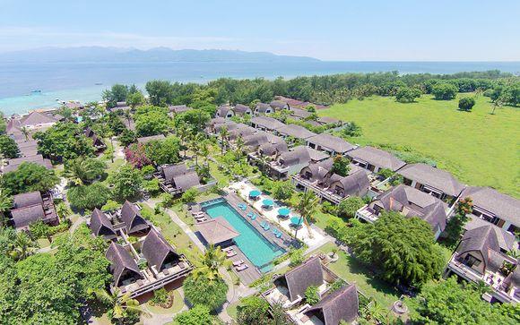 Isole Gili - Vila Ombak Hotel Gili 4*