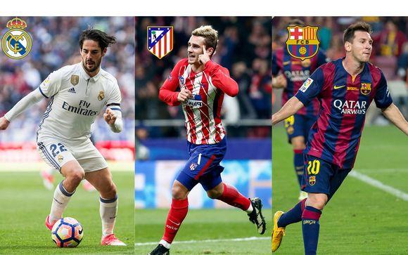FC Barcellona, Real Madrid e Atletico Madrid