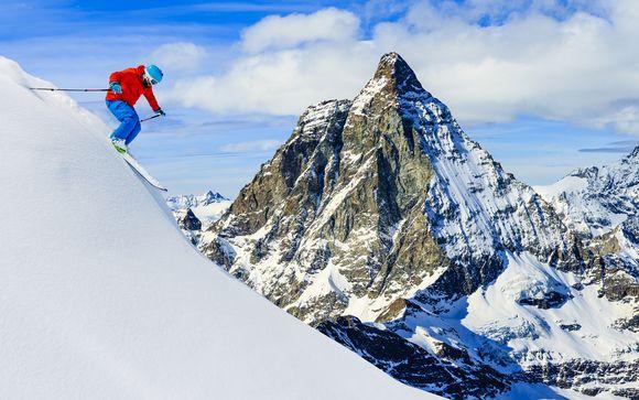 Il comprensorio sciistico Matterhorn Paradise