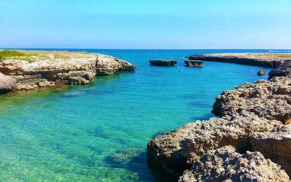 Pensione completa e servizio spiaggia nel cuore della Puglia