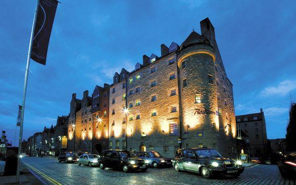 Hotel Radisson Blu Edinburgh 4*