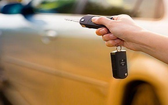 Noleggio auto incluso nelle offerte