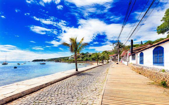 Itinerario - arrivo a Rio de Janeiro il 4 marzo 2017