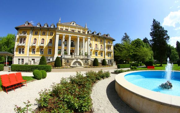 Levico Terme / Trentino - Grand Hotel Imperial****