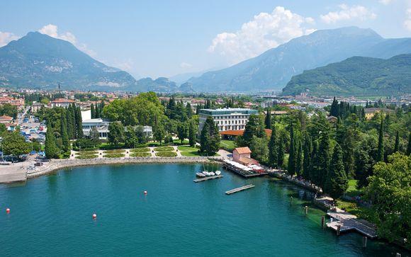 Romantico break sul Lago di Garda in lussuoso 5* con spa